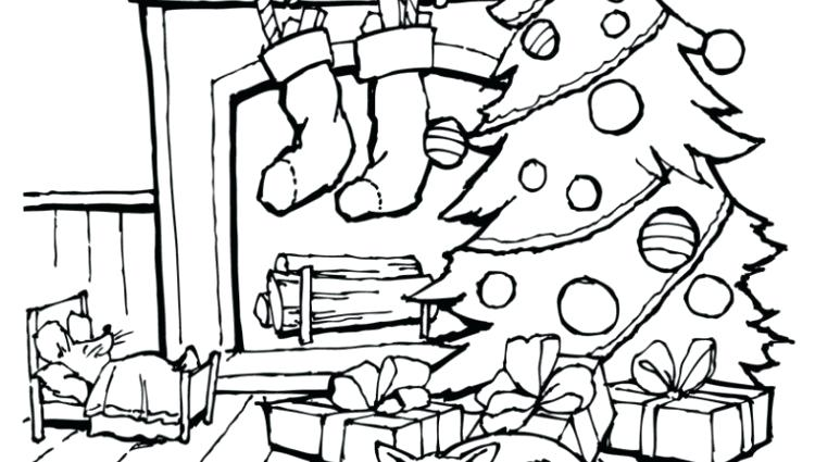 750x425 Twas The Night Before Christmas Coloring Pages X X X A Next Image