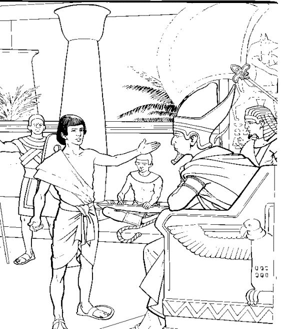 Story Of Joseph Coloring Pages