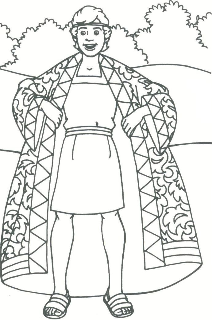 691x1042 Joseph Coloring Pages Collection