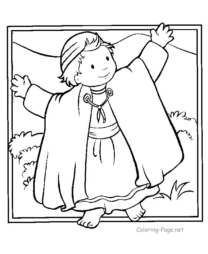670x820 Story Of Joseph Coloring Pages Brothers Coloring Page Kid Joseph