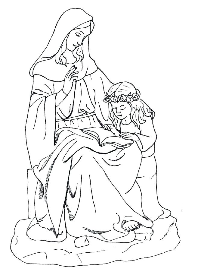 668x922 Story Of Joseph Coloring Pages St Coloring Page Saint Coloring