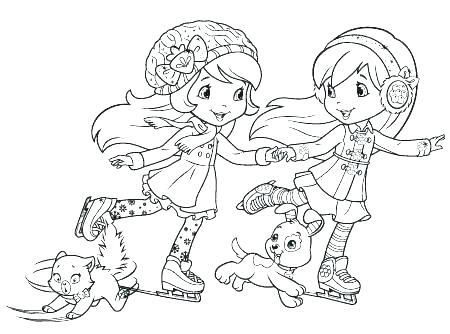 450x334 Strawberry Shortcake Printable Coloring Pages Strawberry Shortcake
