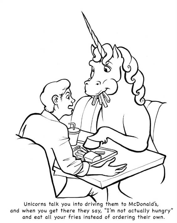 Strange Coloring Pages