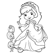 230x230 Top Strawberry Coloring Pages For Your Little One