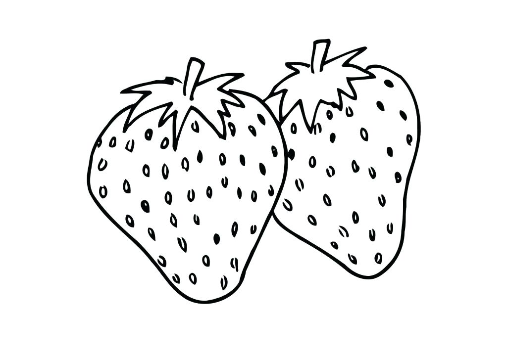 1024x726 Wonderfull Design Strawberry Coloring Page Strawberry Coloring