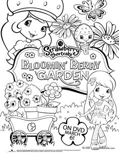 236x305 Image Detail For Strawberry Shortcake And Friends Coloring Pages