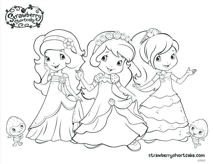 736x568 Coloring Pages Of Strawberry Shortcake And Friends