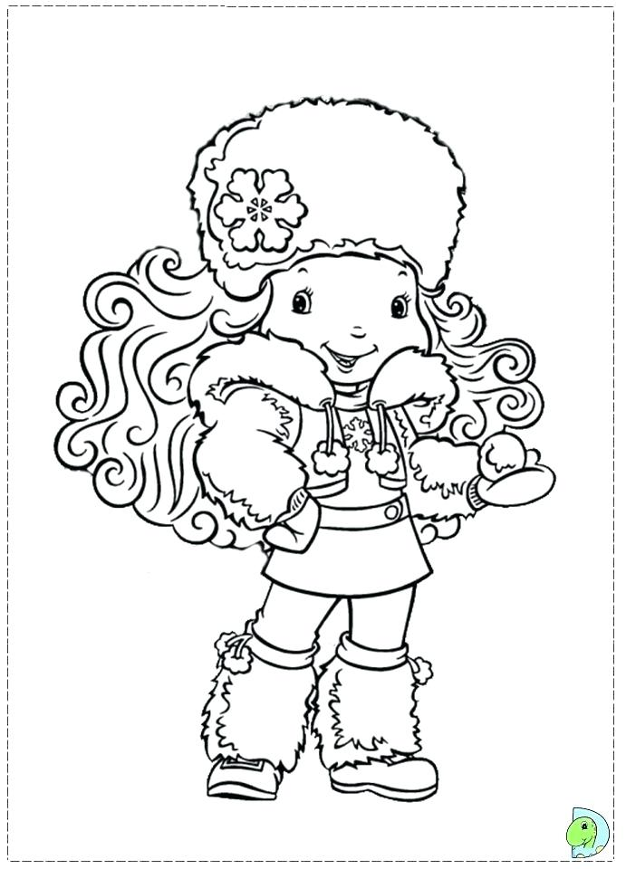 691x960 Coloring Pages Strawberry Shortcake Friends Coloring Pages Free