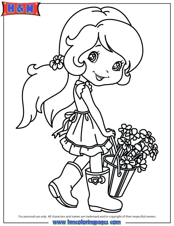 670x867 Coloring Strawberry Shortcake Cherry Jam Coloring Pages Strawberry