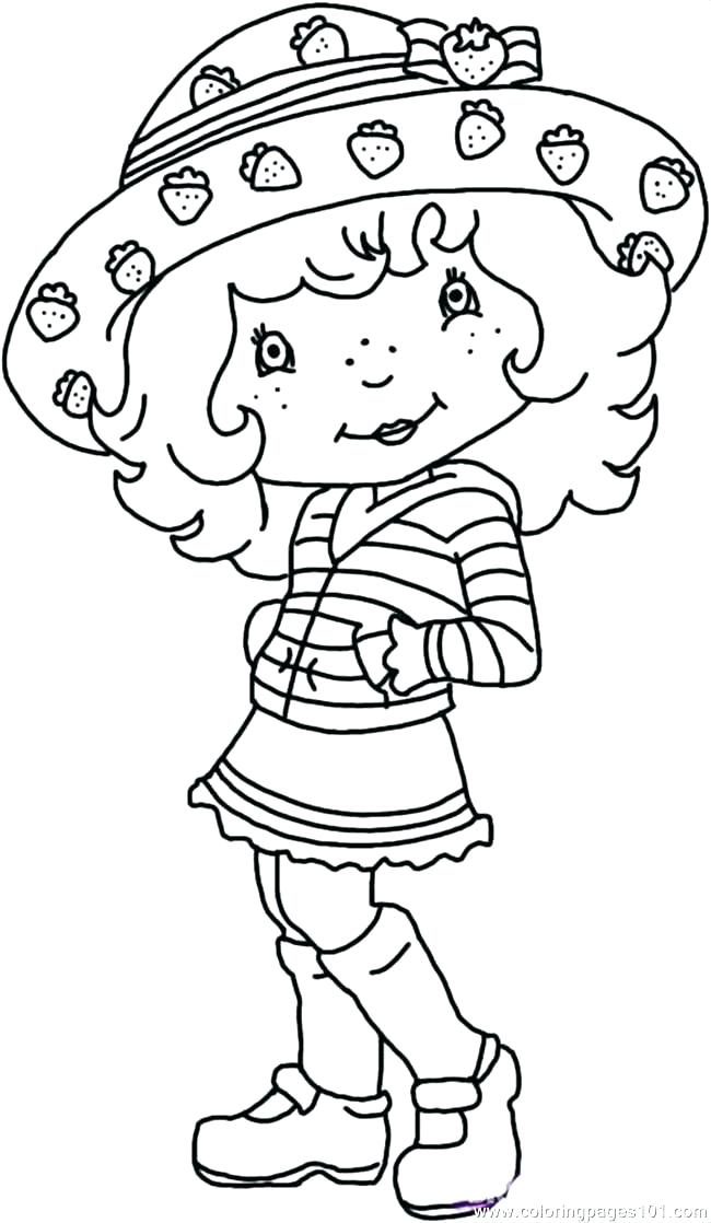 650x1118 Free Printable Coloring Pages Strawberry Shortcake Friends