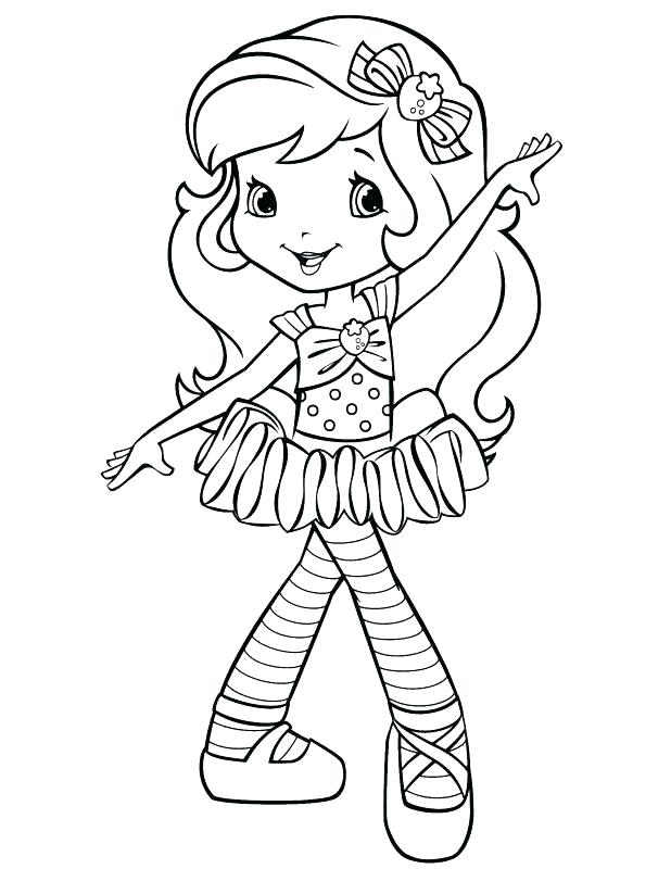 618x800 Strawberry Shortcake Coloring Pages Strawberry Shortcake Coloring