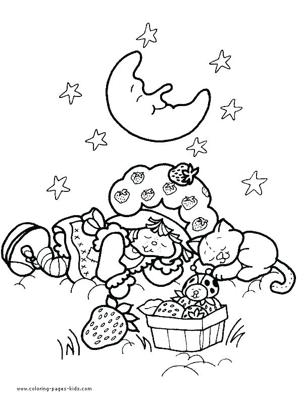 590x800 Strawberry Shortcake Characters Coloring Pages Printable