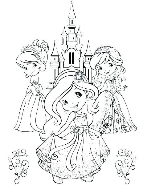 464x601 Strawberry Shortcake Characters Coloring Pages Strawberry