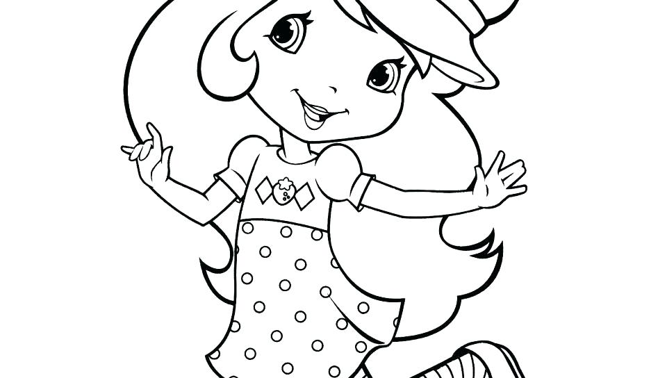 960x544 Strawberry Shortcake Coloring Page Strawberry Shortcake Coloring