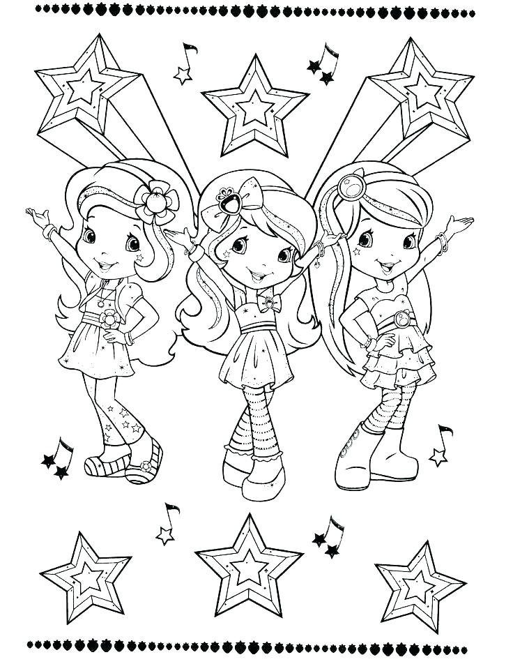 736x952 Strawberry Shortcake Coloring Pages Strawberry Shortcake Coloring