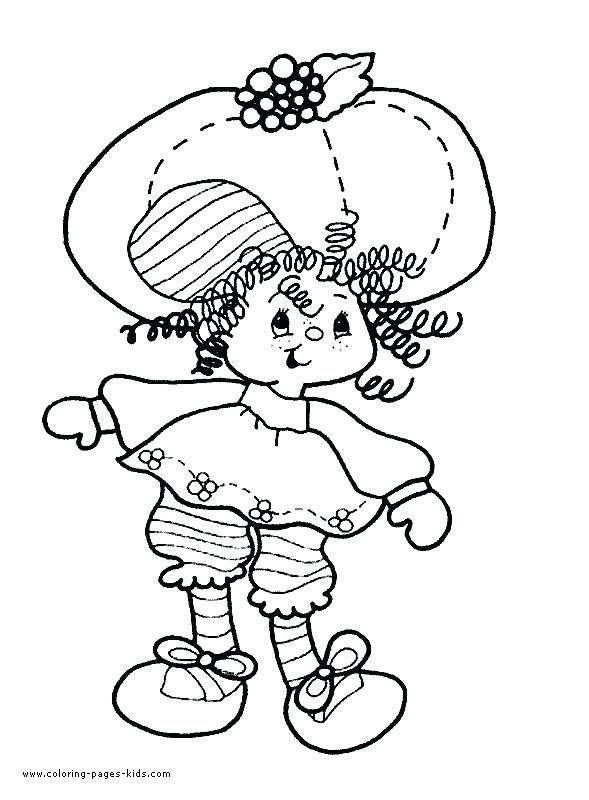 589x800 Cherry Jam Coloring Pages Strawberry Shortcake Printable Coloring
