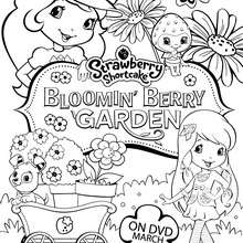 220x220 Jammin With Cherry Jam Strawberry Shortcake Coloring Pages
