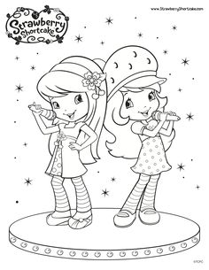 236x305 Strawberry Shortcake Coloring Pages Cherry Jam Waves Hello