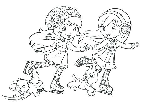 450x334 Cherry Jam Coloring Pages Beautiful Strawberry Shortcake Coloring