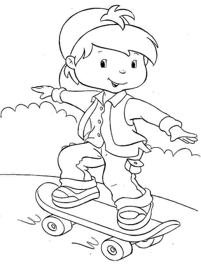 690x911 Cherry Jam Coloring Pages Cartoon Strawberry Shortcake Huckleberry