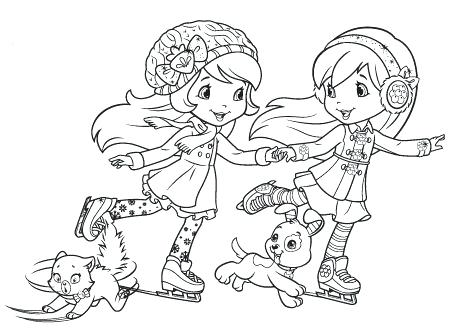 450x334 Strawberry Shortcake Color Pages Activities Archive Strawberry