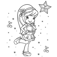 230x230 Top Free Printable Strawberry Shortcake Coloring Pages Online