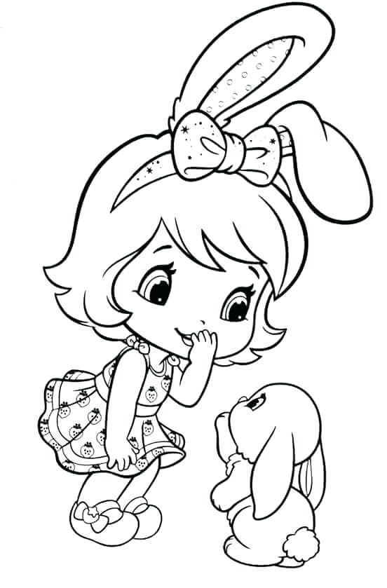 Strawberry Shortcake Coloring Pages At Getdrawings Com Free For