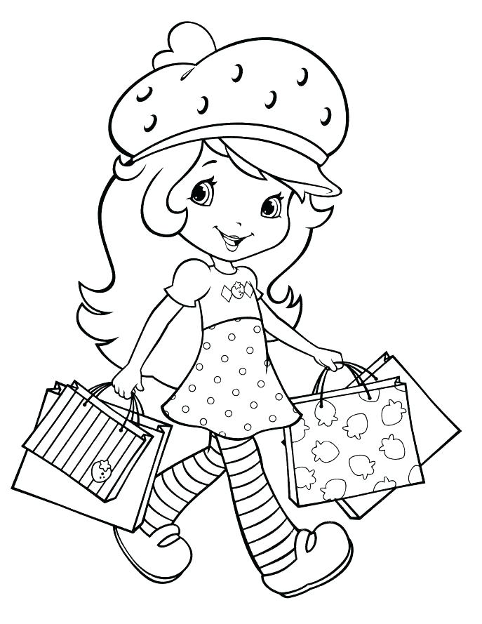 687x889 Strawberry Shortcake Printable Coloring Pages Strawberry Shortcake