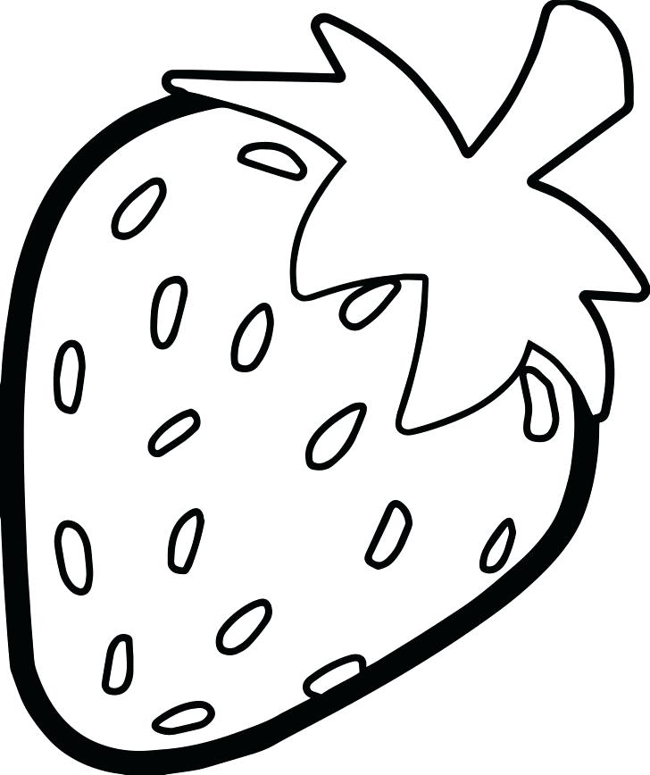 728x868 Strawberry Coloring Page Strawberry Strawberry Shortcake Coloring