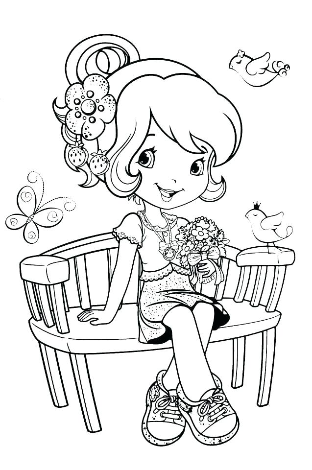 637x960 Printable Strawberry Shortcake Coloring Pages Strawberry Shortcake