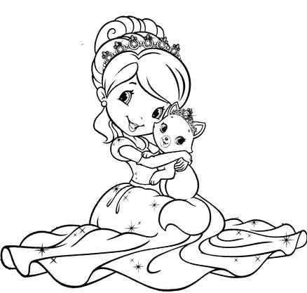 438x417 Strawberry Shortcake Coloring Pages Strawberry Shortcake Coloring