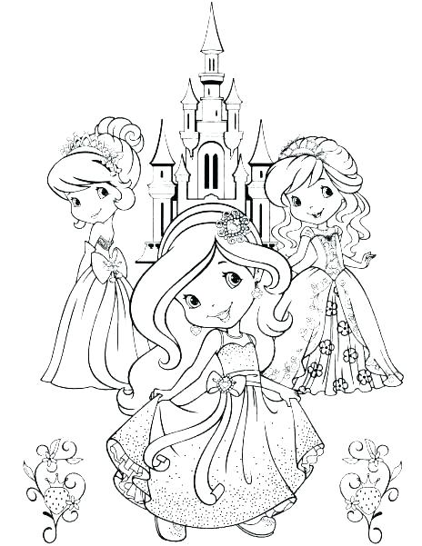 464x601 Strawberry Shortcake Free Coloring Pages Strawberry Shortcake