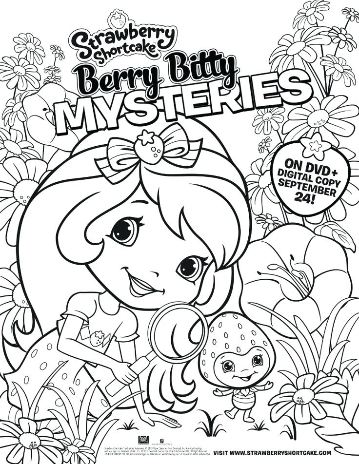 736x952 Strawberry Shortcake Printable Coloring Pages Strawberry Shortcake