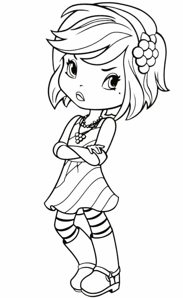 Strawberry Shortcake Printable Coloring Pages at GetDrawings ...