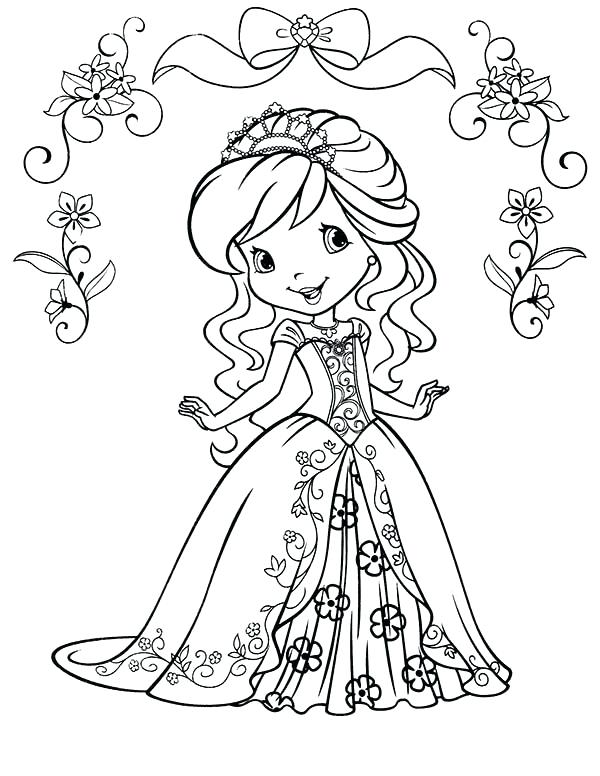 600x776 Coloring Pages Strawberry Shortcake Strawberry Shortcake Coloring