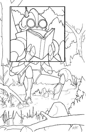 Stream Coloring Page