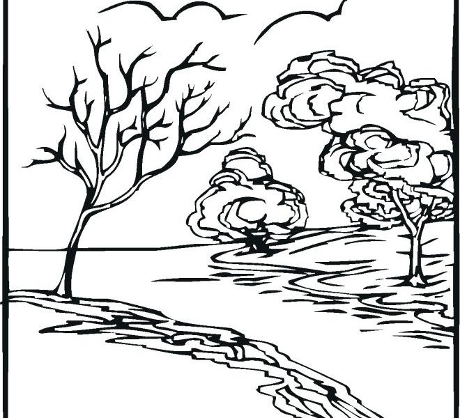 660x600 River Coloring Pages Printable River Coloring Pages Printable