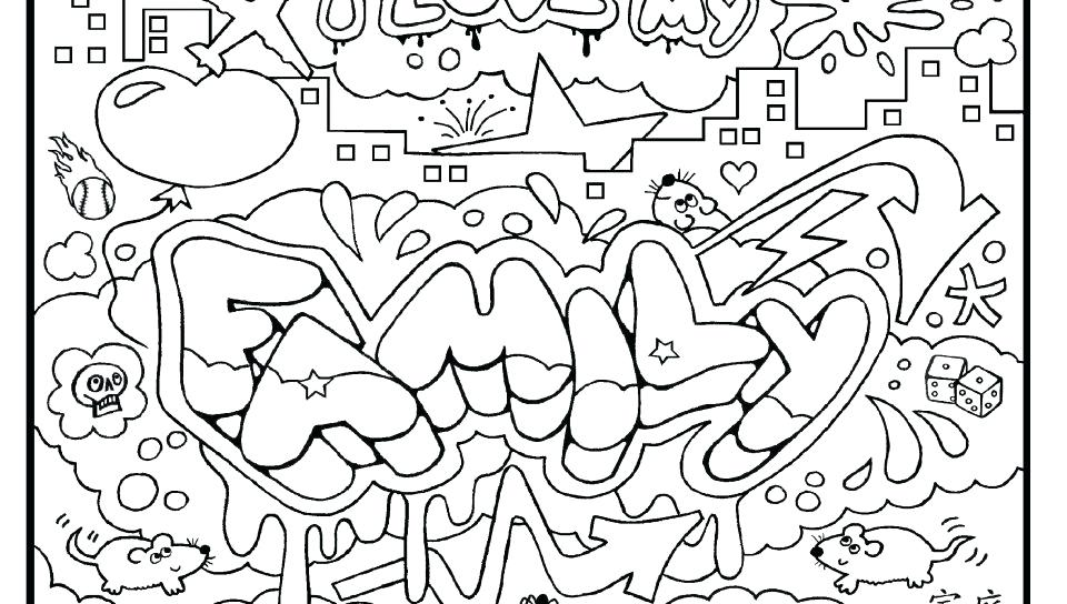 960x544 Free Graffiti Coloring Pages To Print Get This Online Graffiti