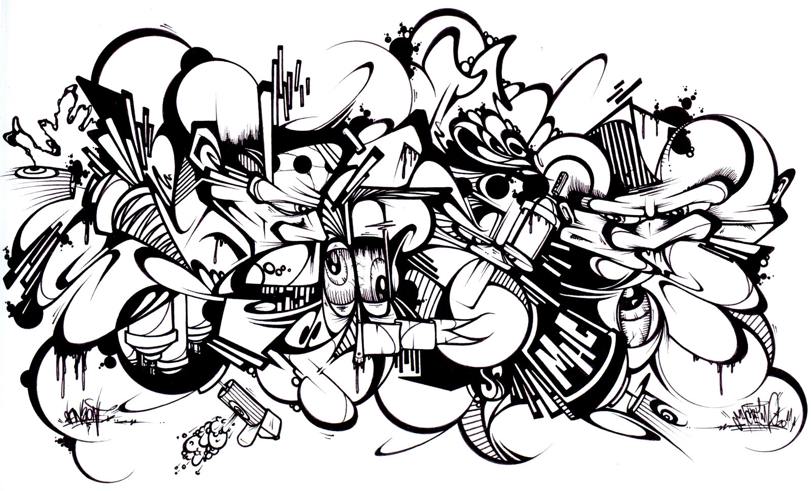 1600x968 Graffiti Coloring Pages Brilliant Multicultural Graffiti Art Free