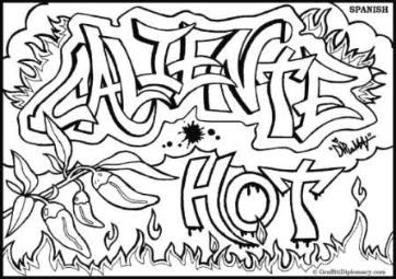 The Best Free Graffiti Coloring Page Images Download From
