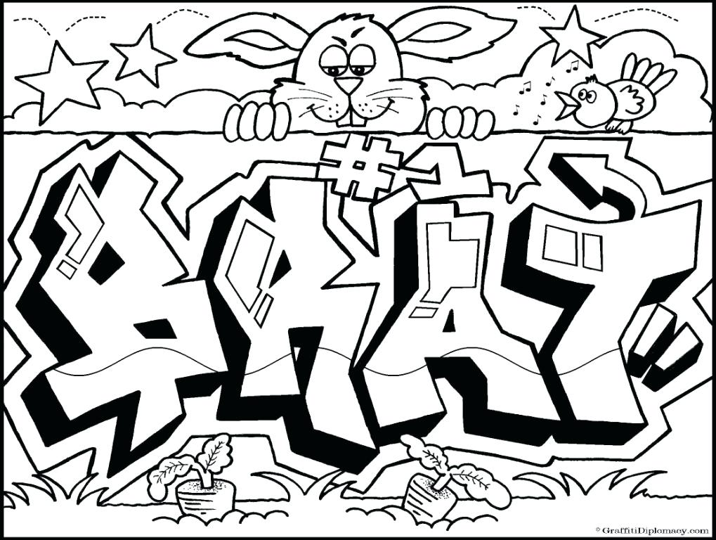 1019x768 Printable Graffiti Coloring Pages Iti Art Coloring Sheets Here Are