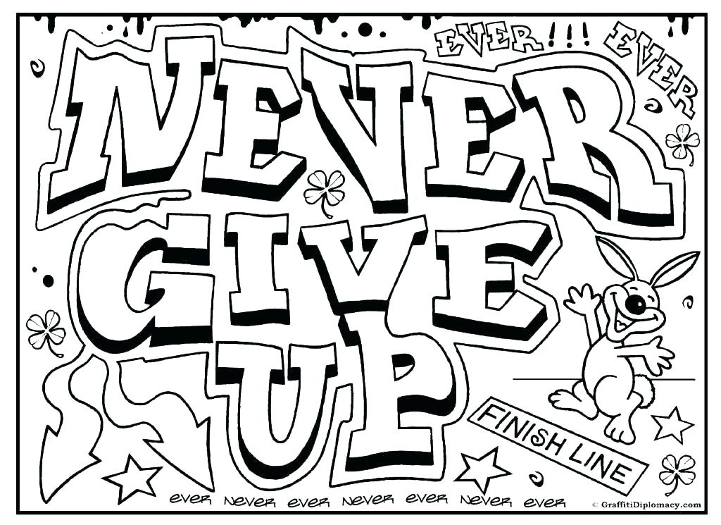 1024x745 Printable Graffiti Coloring Pages Surprising Crazy Graffiti Names