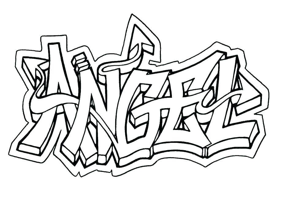 940x646 Coloring Pages Of Graffiti Coloring Page Maker Graffiti Coloring