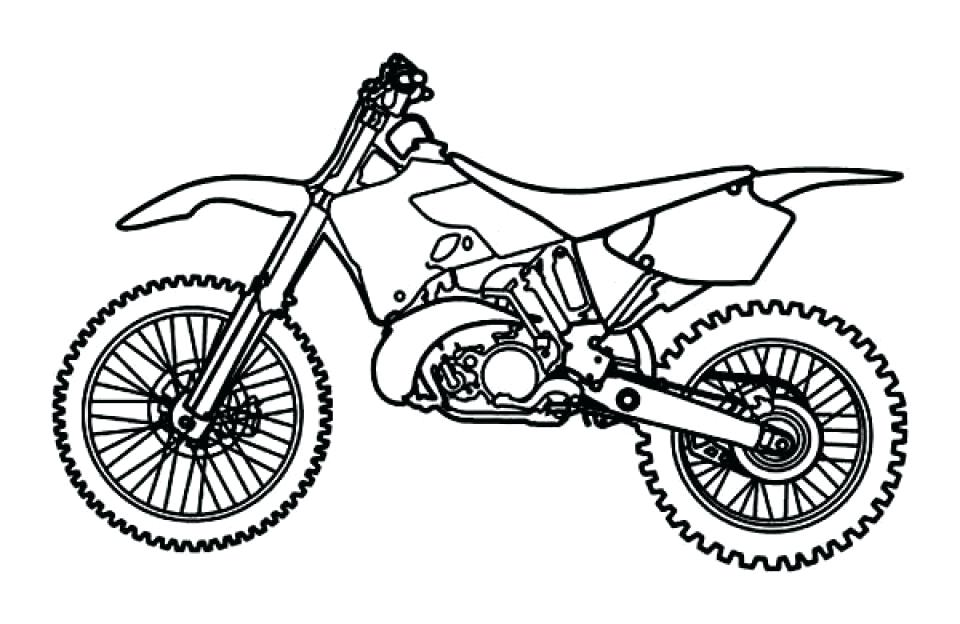 960x624 Bike Coloring Pages Dirt Bike Pictures To Print Free Printable
