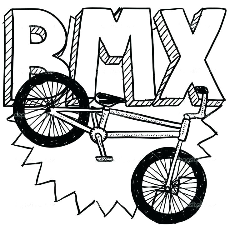 736x736 Bike Coloring Pages Transportation Equipment Bicycle Coloring Page