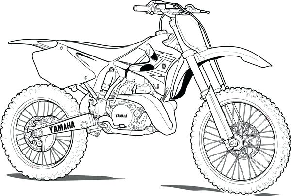 600x406 Bicycle Coloring Page Bicycle Coloring Page Pics Dirt Bike Color
