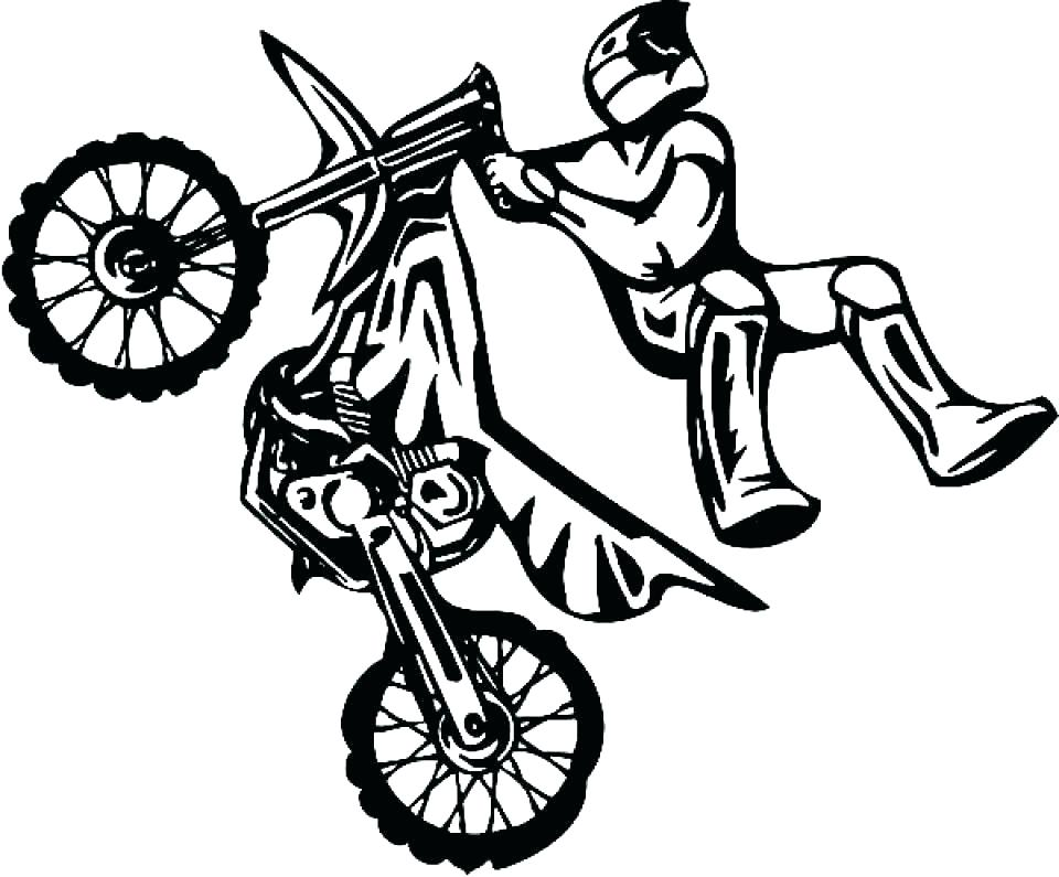 960x795 Dirt Bike Coloring Pages Icontent