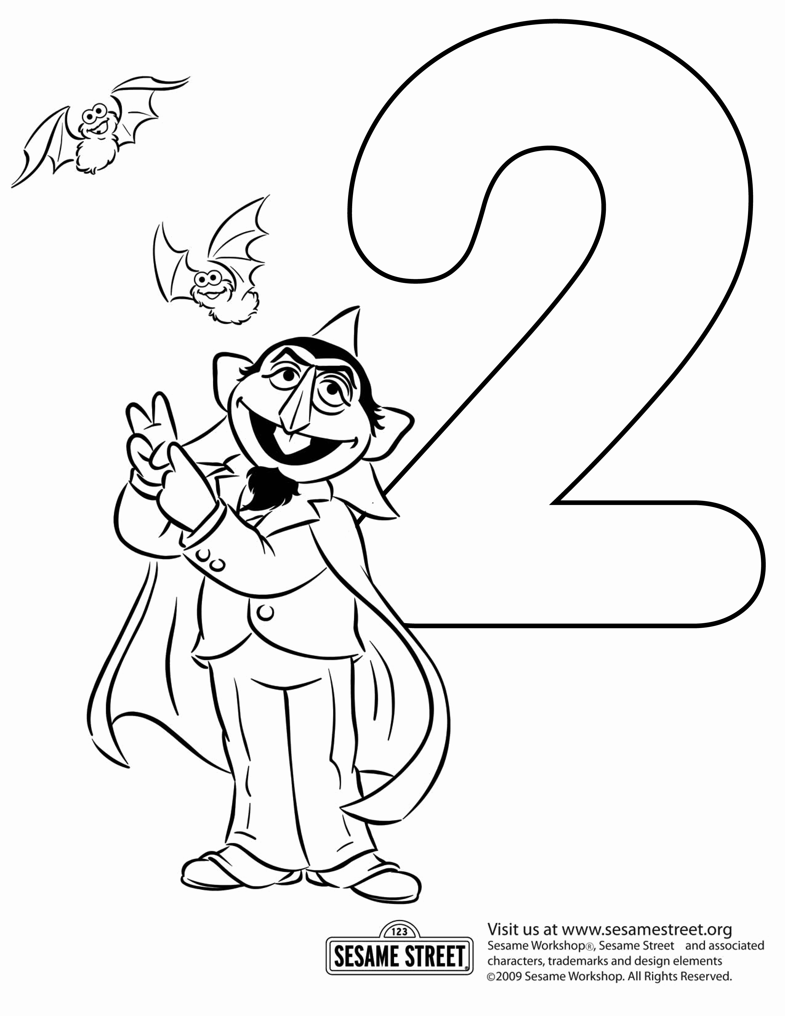 2550x3300 Sesame Street Coloring Pages Inspirational Street Coloring Pages