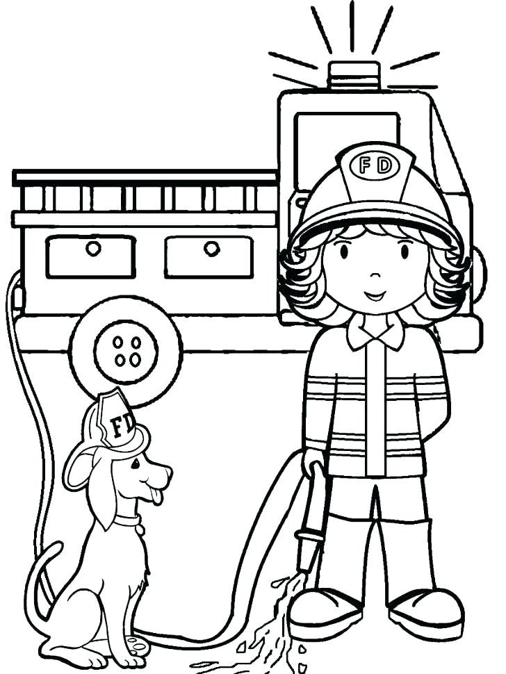 728x970 Fire Coloring Pages Printable Fire Fighter Coloring Pages Fireman