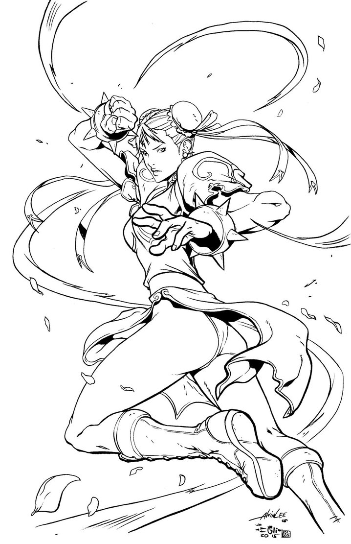 718x1111 Street Fighter Coloring Pages Gallery Coloring For Kids